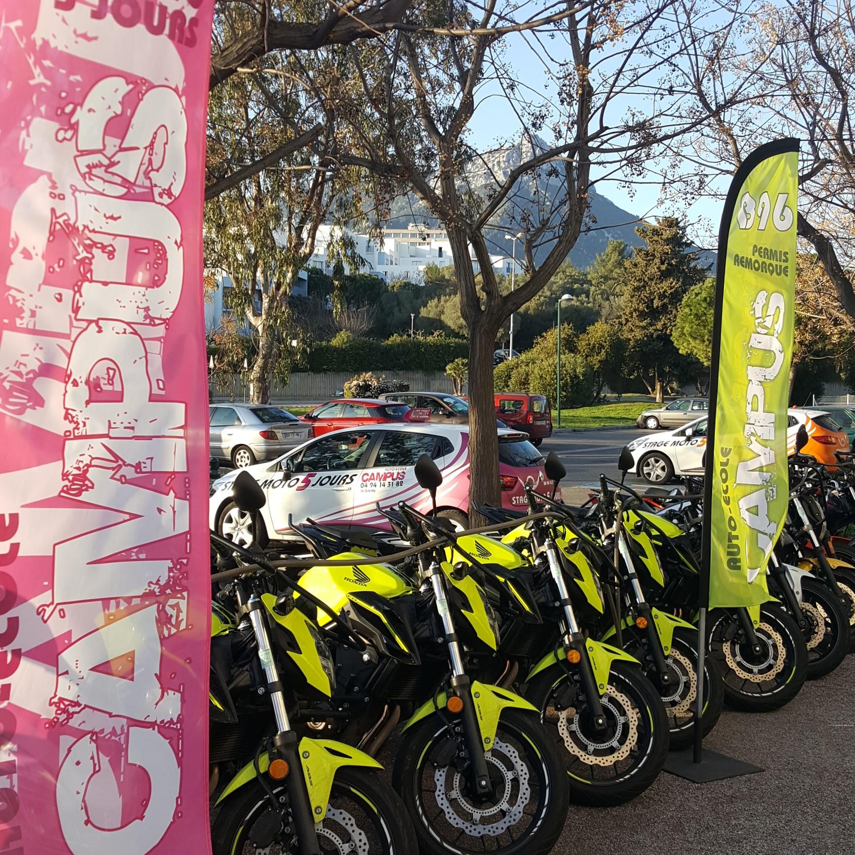 353cd339540633 Auto Moto Ecole Campus La Garde